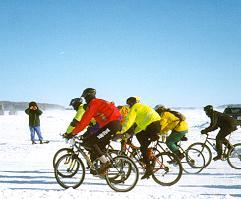 International Ice race starts