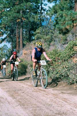 XTERRA biking at Lake Tahoe