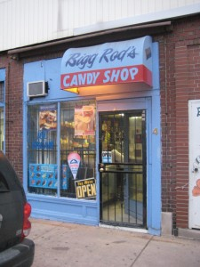 Bigg Rod's Candy Shop in Highland Park, Michigan