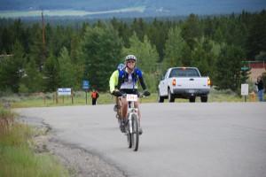 Anna Hansen at Leadville