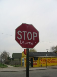 Stop Driving!